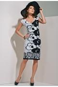 Стильное платье Top Design A4 058