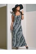 Длинное трикотажное платье TopDesign A4 065