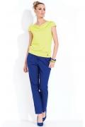 Блузка желтого цвета Zaps Amalia