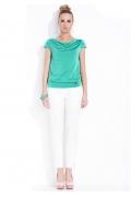 Блузка зеленого цвета Zaps Amalia