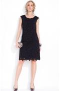 Черное кружевное платье Zaps Celestia