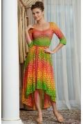 Яркое платье на лето TopDesign Premium PA4 41