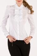 Белая блузка Golub (коллекция Весна 2011) | Б669-853