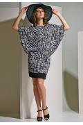 """Платье """"летучая мышь"""" TopDesign A4 002"""