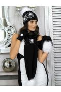 Женская шапка+шарф Kamea Agata К