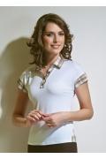 Блузка с рубашечным воротом TopDesign A4 114
