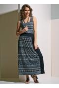 Длинное летнее платье TopDesign A4 151