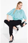 Светло-бирюзовая блузка Zaps Tanita
