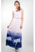 Длинное летнее платье Golub П189-2331-2193