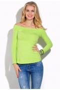 Блузка цвета лайм Donna Saggia DSB-03-32t