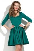 Бирюзовое коктейльное платье Donna Saggia DSP-140-18t