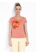 Блузка персикового цвета Zaps Sunny