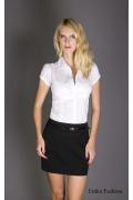Черная деловая мини юбка | 187-universal