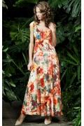 Длинное летнее платье Topdesign Premium PA3 33