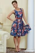 Летнее платье TopDesign Premium PA4 54