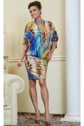 Летнее платье из трикотажа TopDesign Premium PA4 50