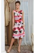 Летнее платье без рукавов TopDesign Premium PA4 32
