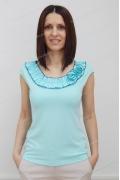 Летняя блузка мятного цвета Sunwear N42-2-89