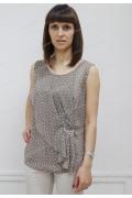 Бежевая блузка Sunwear N96-1