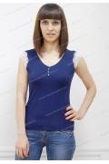 Летняя блузка синего цвета Sunwear N94-3