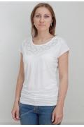 Белая блузка Sunwear N35-2