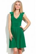 Короткое зеленое платье Donna Saggia DSP-145-73t