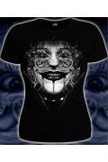 Женская футболка 3D Клоун (Светится в темноте)