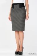 Тёплая юбка на осенне-зимний сезон Emka Fashion 408-arama