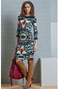 Облегающее платье TopDesign B4 033