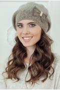 Коричневая женская шапка Landre София