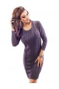 Фиолетовое платье Enny 18025