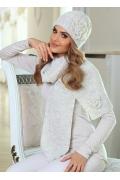 Тёплая шерстяная шапочка Kamea Emma