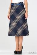 Мягкая тёплая шерстяная юбка Emka Fashion 412-eseniya