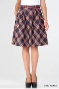 Шерстяная юбка-колокол Emka Fashion 322-ruvalda