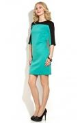 Двухцветное коктейльное платье Donna Saggia DSP-176-50t