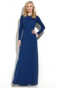 Длинное синее платье Donna Saggia DSP-179-37t