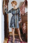 Трикотажное платье TopDesign Premium PB4 29