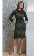 Трикотажное платье Top Design B4 084