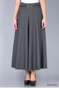 Длинная юбка серого цвета Emka Fashion 288-melanta