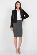 Офисная юбка длинной до колена Emka Fashion 202-60/paloma