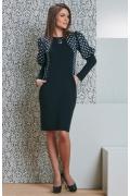 Платье TopDesign B4 089 (осень-зима 2014/2015)
