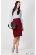 Юбка красного цвета Emka Fashion 369-georgina