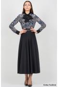 Длинная юбка Emka Fashion 288-abrama