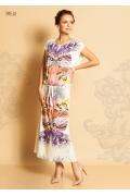 Длинное летнее платье TopDesign Premium PA5 62