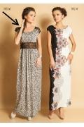 Длинное платье с кружевом TopDesign Premium PA5 68
