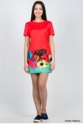 Яркое летнее платье Emka Fashion PL-419/greta