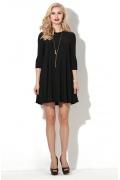 Коктейльное платье черного цвета Donna Saggia DSP-77-4t