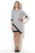 Светло-серое летнее платье Donna Saggia DSP-07-88t