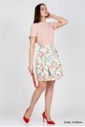Летняя юбка Emka Fashion 537-lukind