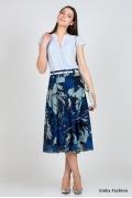 Летняя юбка из шифона Emka Fashion 484-aime
